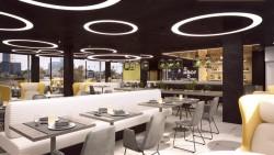 MOOONS Hotel Vienna - Restaurant<small>© MOOONS Operations Alpha GmbH / ARCOTEL Hotels</small>