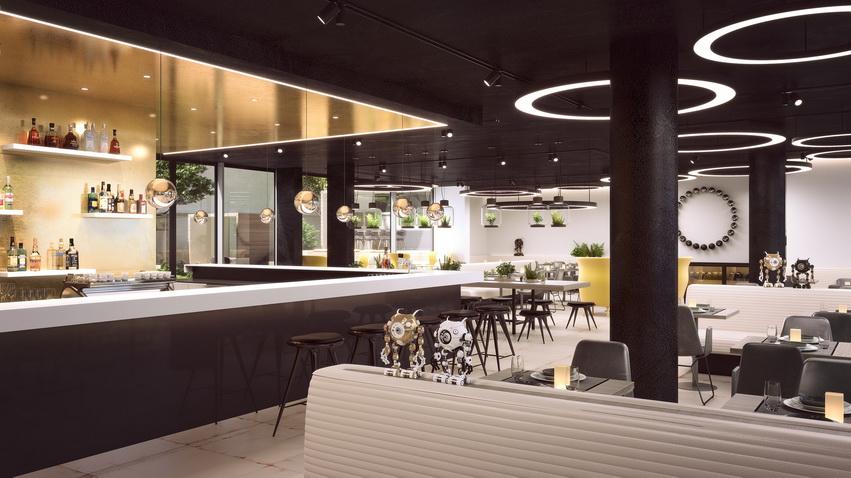 MOOONS Hotel Vienna - Bar<small>© MOOONS Operations Alpha GmbH / ARCOTEL Hotels</small>