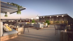 MOOONS Hotel Vienna - Rooftop<small>© MOOONS Operations Alpha GmbH / ARCOTEL Hotels</small>
