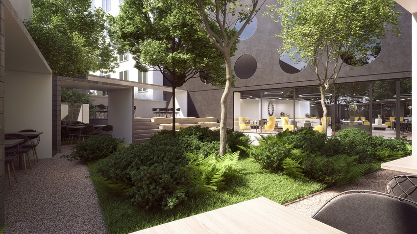 MOOONS Hotel Vienna - Garden<small>© MOOONS Operations Alpha GmbH / ARCOTEL Hotels</small>