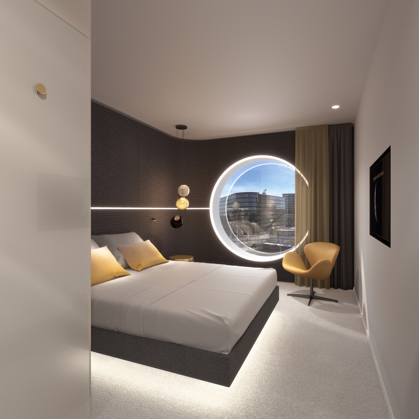 MOOONS Hotel Vienna - Room 2<small>© MOOONS Operations Alpha GmbH / ARCOTEL Hotels</small>