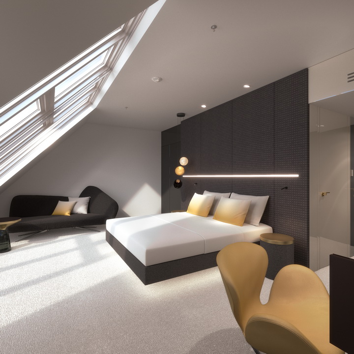 MOOONS Hotel Vienna - DGZimmer_2<small>© MOOONS Operations Alpha GmbH / ARCOTEL Hotels</small>