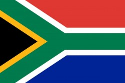 Flag of South Africa<small>© Wikimedia Commons / Vlag van Suid-Afrika [Public Domain]</small>