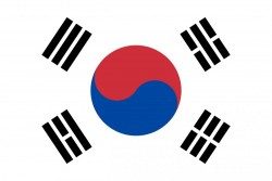 Flag of South Korea<small>© Wikimedia Commons / [Public Domain]</small>