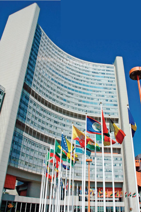 IAEA, VIC, UN United Nations Vienna<small>© IAEA International Atomic Energy Agency</small>