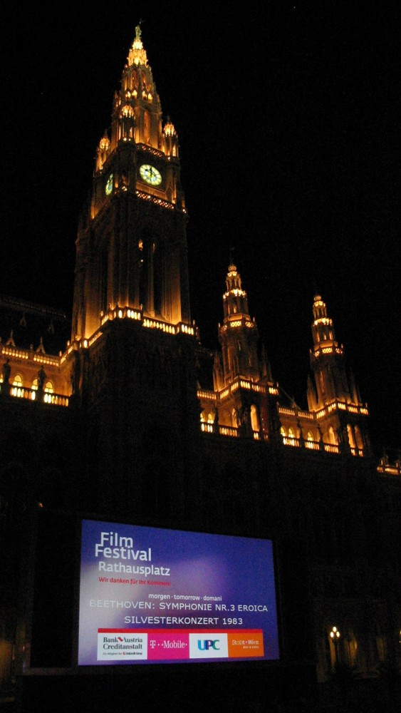 Film Festival Rathausplatz, Town Hall Square<small>© Wikimedia Commons / I, I.R. Annie IP. [CC BY-SA 3.0]</small>