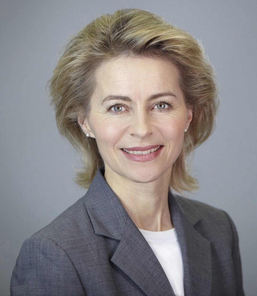 Ursula Gertrud von der Leyen<small>© Wikimedia Commons / Laurence Chaperon [CC BY-SA 3.0 de]</small>