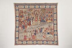 Qalamkār-e taswīrī (Printed and painted wall hanging<small>© KHM-Museumsverband</small>