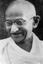 Mohandas K. Gandhi alias Mahatma Gandhi<small>© Wikimedia Commons / Author: Unknown [Public Domain]</small>