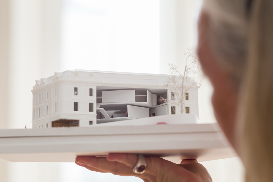 Museum Concept by The Next ENTERprise–Architects<small>© Heidi Horten Collection</small>