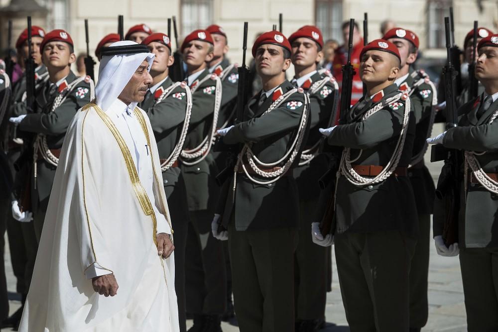 Ambassador of Qatar, Sultan Salmeen Al-Mansouri<small>© bundespraesident.at / Carina Karlovits and Peter Lechner / HBF</small>
