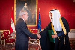 Prince Abdullah Bin Khaled Bin Sultan Al Saud<small>© bundespraesident.at / Carina Karlovits and Peter Lechner / HBF</small>