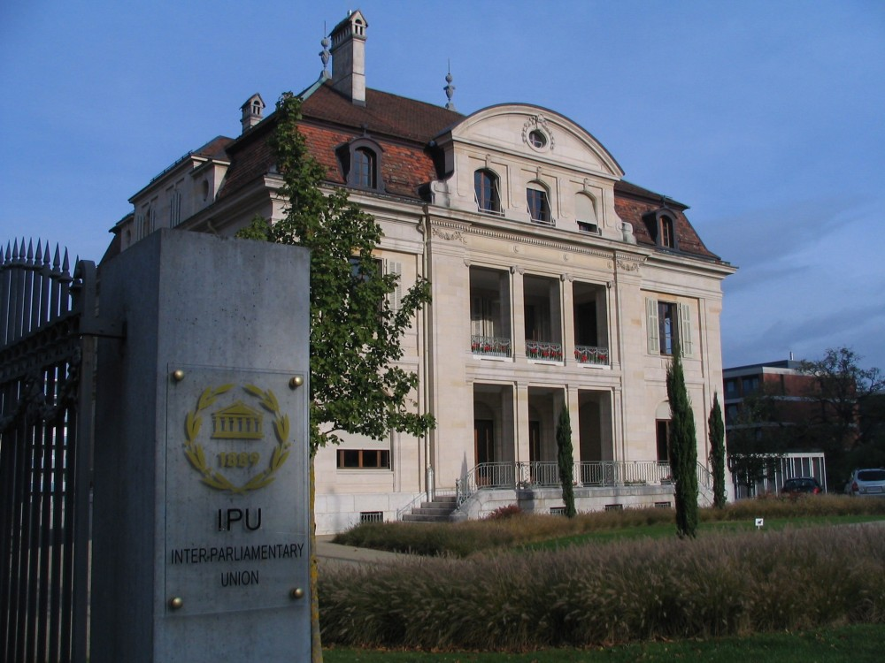 IPU Interparlamentary Union, HQ in Geneva<small>© Wikimedia Commons / Hadi [CC BY-SA 3.0]</small>