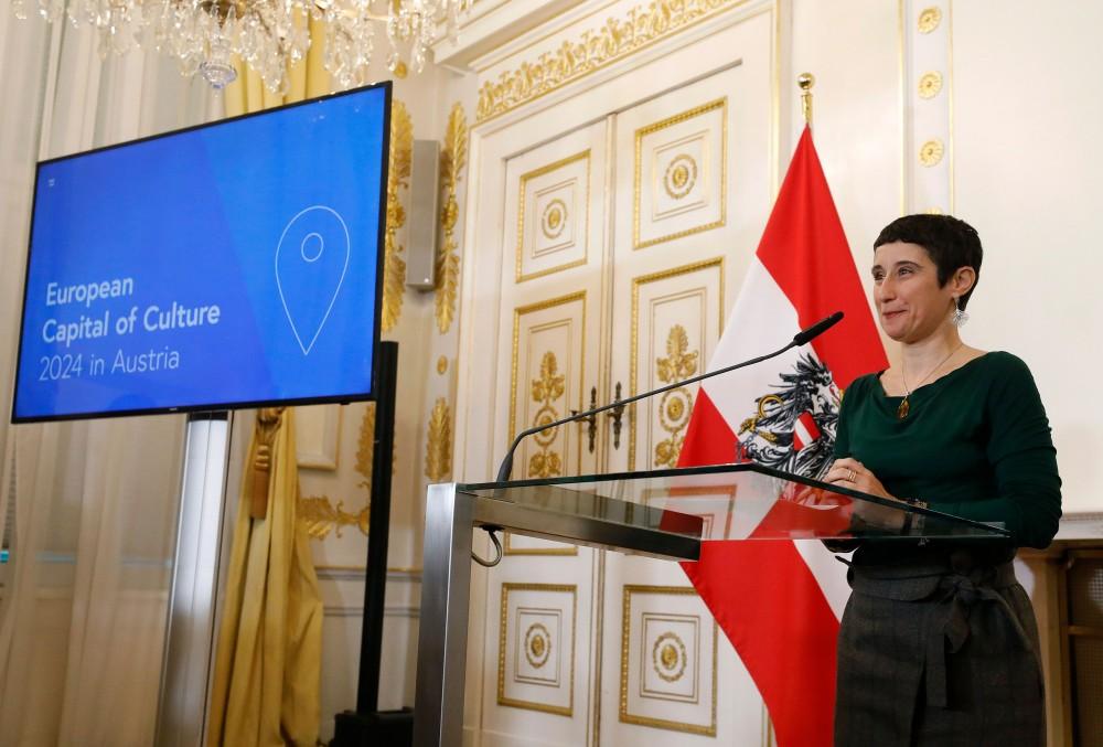 Chairman of the Jury Cristina Farinha<small>© Bundeskanzleramt (BKA) / Dragan Tatic</small>
