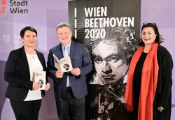 Beethoven 2020: Ludwig, Kaup-Hasler and Schicker<small>© Magistrat der Stadt Wien / C.Jobst/PID</small>