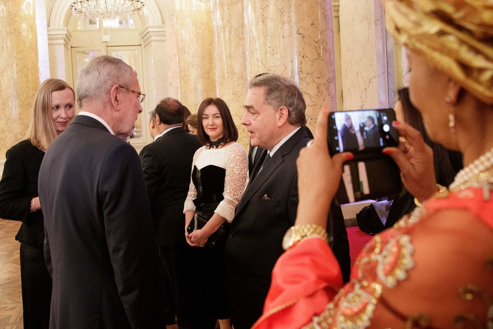 New Year Reception for the Diplomatic Corps in Vienna 2020<small>© bundespraesident.at / Carina Karlovits and Peter Lechner / HBF</small>