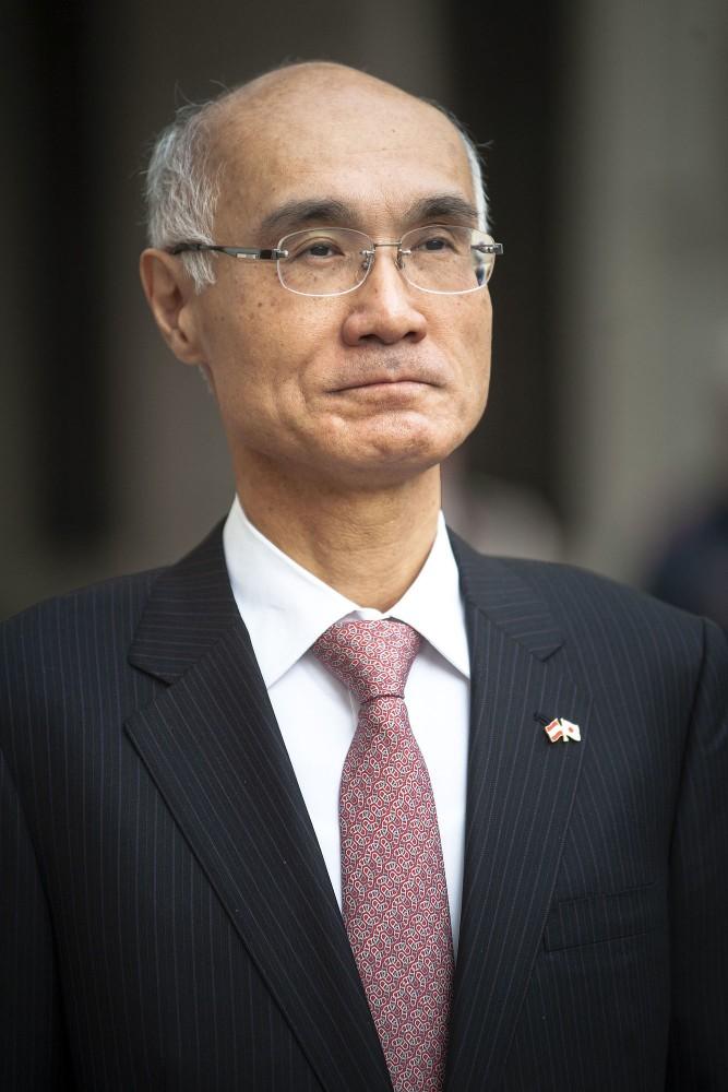 Ambassador of Japan, H.E. Mr. Akira Mizutani<small>© bundespraesident.at / Laura Heinschink and Peter Lechner / HBF</small>