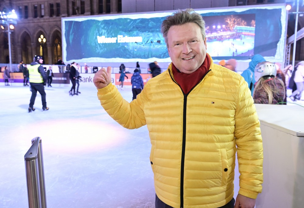 Opening of the 25th Vienna Ice Dream: Mayor Michael Ludwig<small>© Magistrat der Stadt Wien / C.Jobst/PID</small>