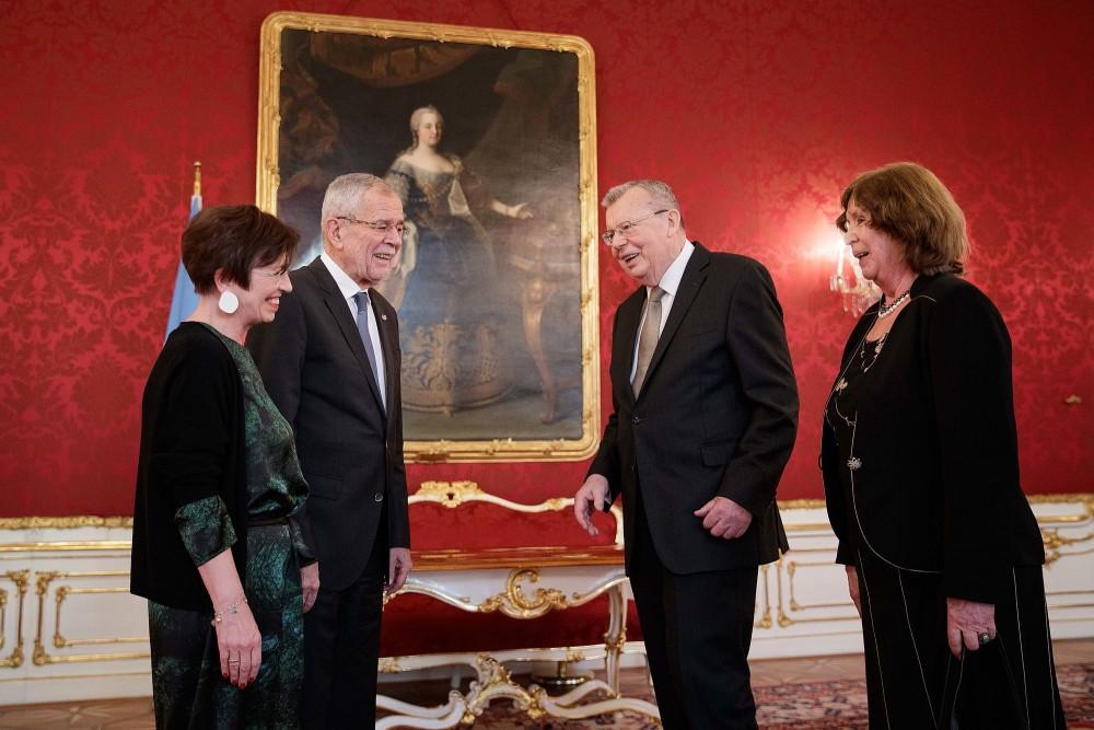 UN Executive Director Yury Fedotov Bids Farewell to Vienna<small>© Österreichische Präsidentschaftskanzlei / Peter Lechner/HBF</small>