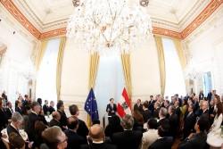Reception of Ambassadors in the Chancellery<small>© Bundeskanzleramt (BKA) / Dragan Tatic</small>