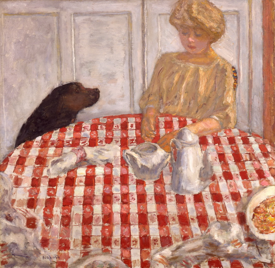 Pierre Bonnard - The Checkered Tablecloth, 1910<small>© Private Collection</small>