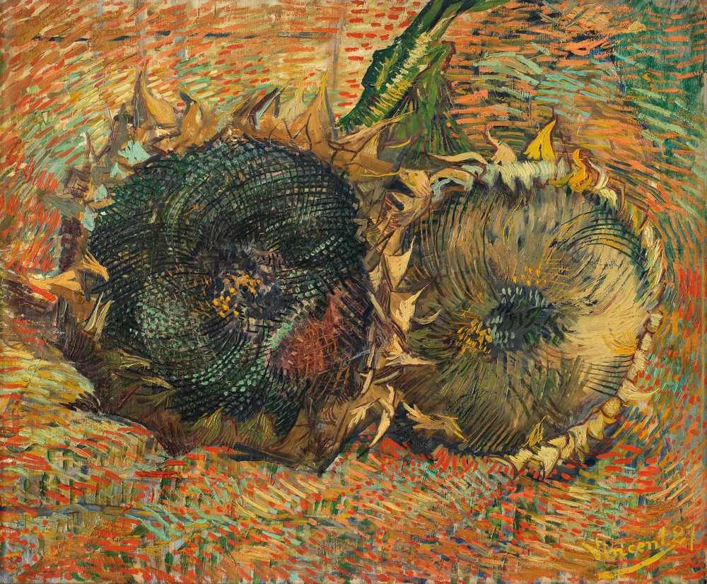 Vincent van Gogh - Withered Sunflowers, 1887<small>© Kunstmuseum Bern</small>