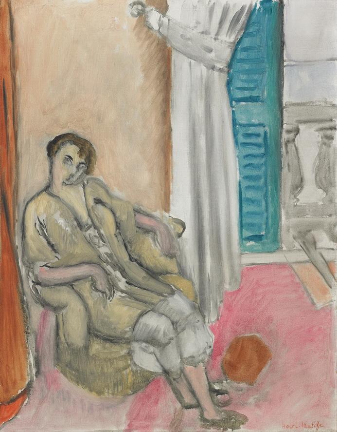 Henri Matisse - The Beige Odalisque, 1919<small>© Reto Pedrini, Zurich</small>