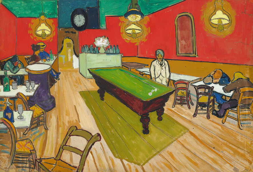 Vincent van Gogh - The Night Café in Arles, 1888<small>© Reto Pedrini, Zurich</small>