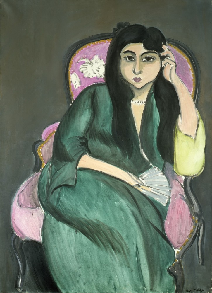 Henri Matisse - Woman in Green, 1917<small>© Private Collection</small>