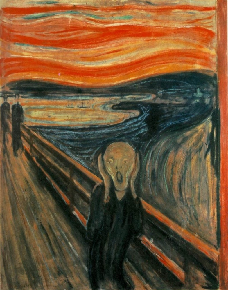 Edvard Munch - The Scream<small>© Wikimedia Commons / Edvard Munch / Public Domain</small>