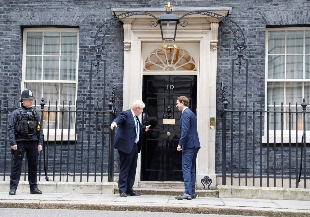 Sebastian Kurz met Boris Johnson in London.<small>© Bundeskanzleramt (BKA) / Dragan Tatic</small>