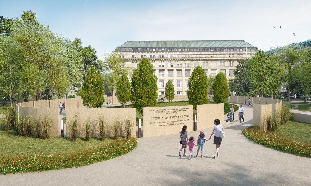 Shoah Wall of Names Memorial, Ostarrichi Park<small>© Wehofer Architekten ZT GmbH</small>