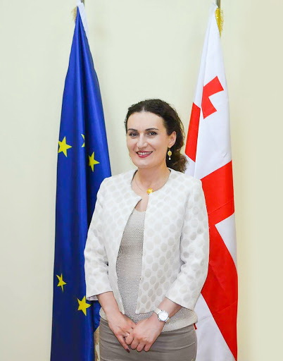 H.E. Ketevan Tsikhelashili<small>© Ministry of Foreign Affairs / Embassy of Georgia in Vienna</small>