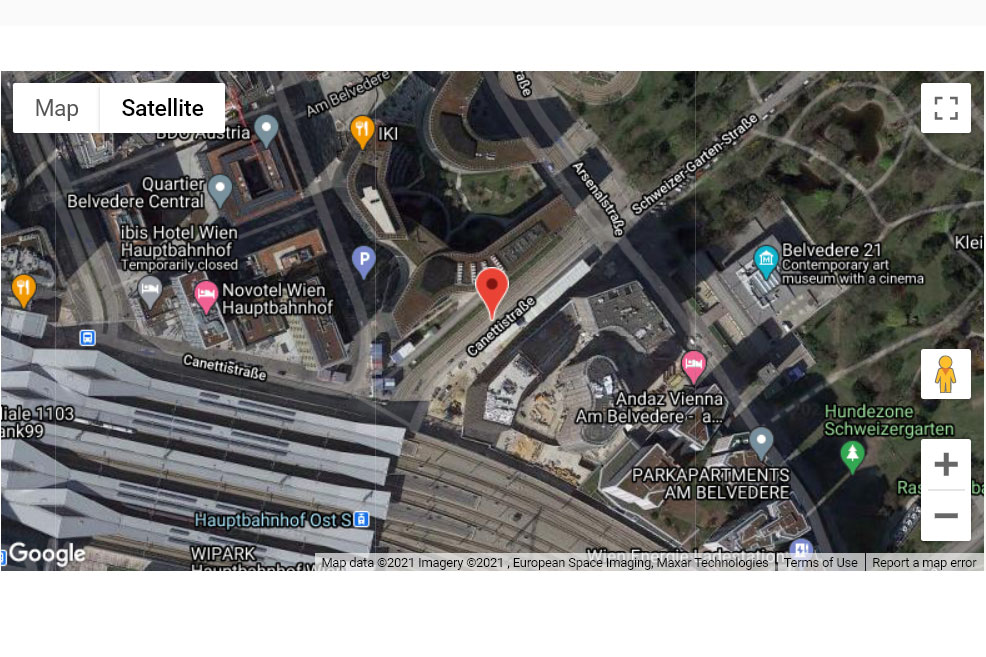 Adina Apartment Hotel Vienna Belvedere - Map View<small>© Google</small>