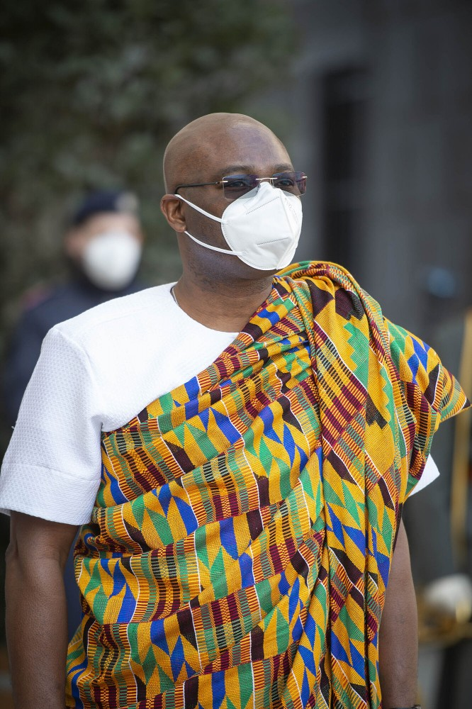 H.E. Mr. Philbert Abaka JOHNSON, Ambassador Republic of Ghana<small>© Carina Karlovits und Peter Lechner/HBF</small>