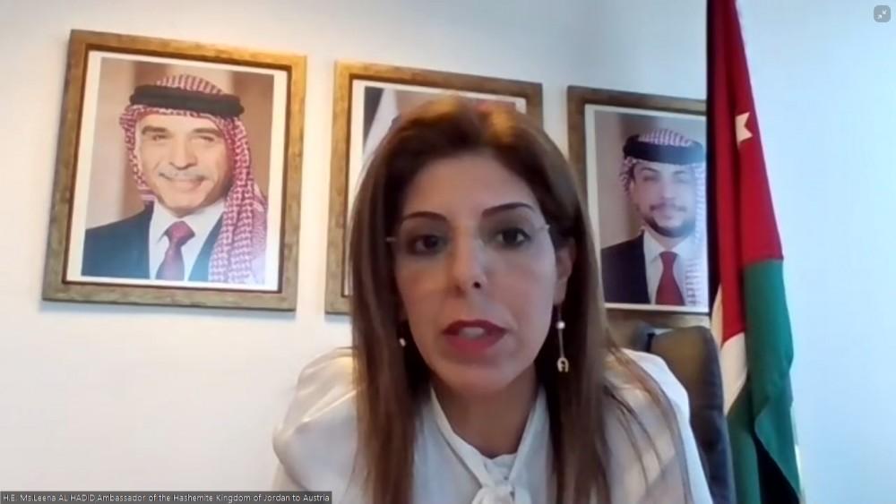 Ambassador of Jordan to Austria, Ms. Leena Al-Hadid<small>© Austro-Arab Chamber of Commerce (AACC)</small>