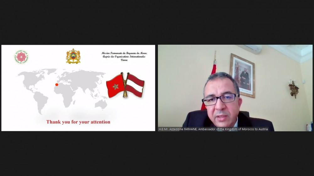 Ambassador of Morocco to Austria, Mr. Azzeddine Farhane<small>© Austro-Arab Chamber of Commerce (AACC)</small>