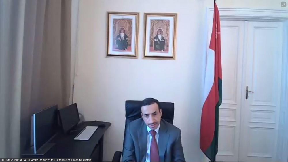 Ambassador of Oman to Austria, Mr. Yousuf Ahmed Al-Jabri<small>© Austro-Arab Chamber of Commerce (AACC)</small>