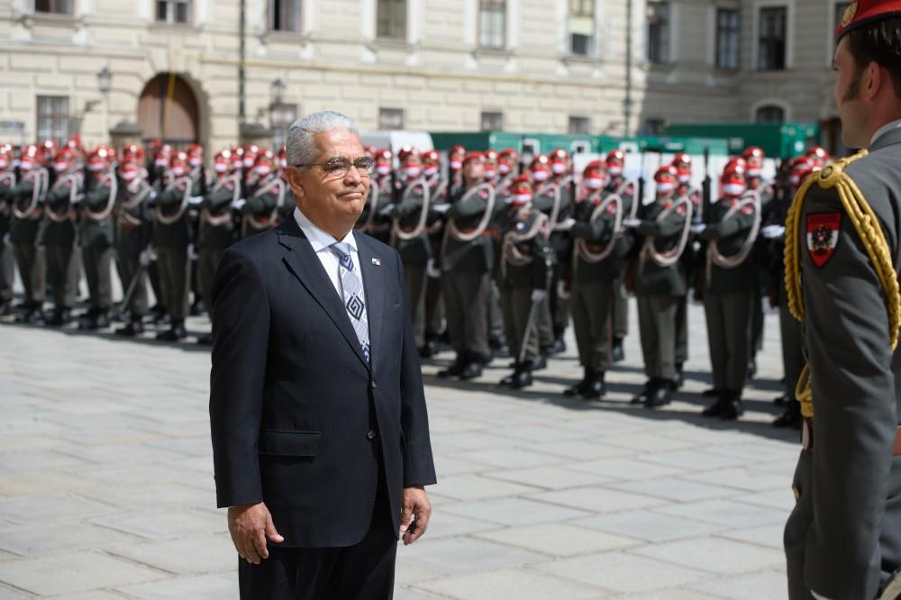 Ambassador of Panama to Austria, Mr. Dario Ernesto Chiru Ochoa<small>© bundespraesident.at / Peter Lechner / HBF & Lukas Hardt-Stremayr</small>