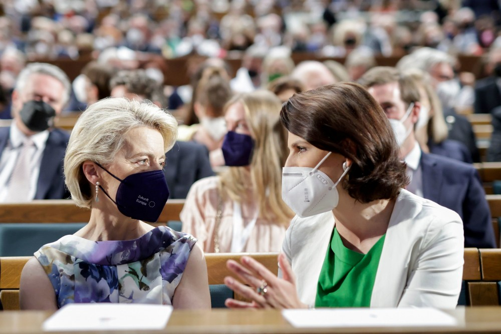 Ursula von der Leyen (left) and Karoline Edtstadler (right)<small>© Bundeskanzleramt (BKA) / Andy Wenzel</small>