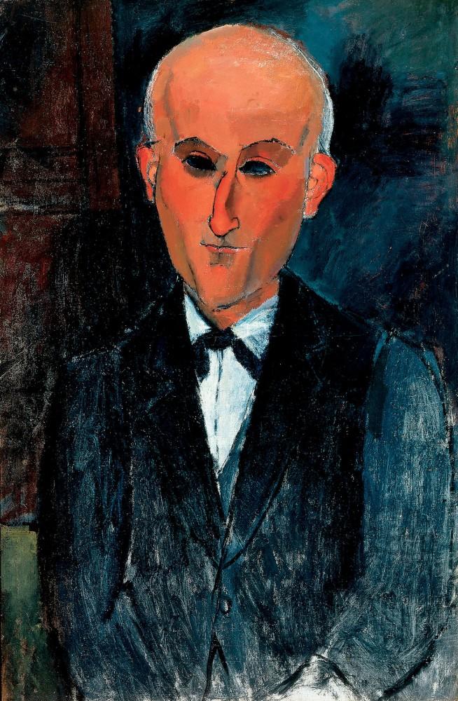 Amedeo Modigliani: Max Jacob, 1916/17<small>© Bridgeman Images</small>