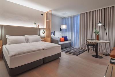 Adina Apartment Hotel Vienna Belvedere: Example room.<small>© TFE Hotels - Medina Property Services Pty Ltd</small>