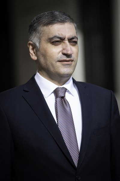 Ambassador of the Republic of Armenia to Austria: H.E. Mr. Armen Papikyan<small>© www.bundespraesident.at / Carina Karlovits and Laura Heinschink/HBF</small>