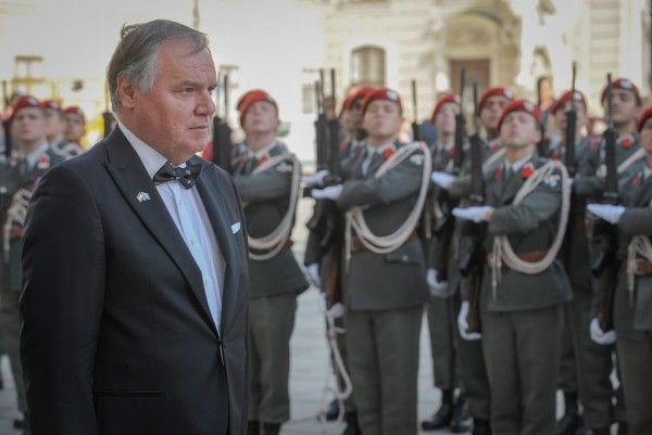 Ambassador of Bosnia and Herzegovina to Austria: H.E. Mr. Kemal Kozarić<small>© www.bundespraesident.at / Karlovits, Bauer und Heinschink / HBF</small>