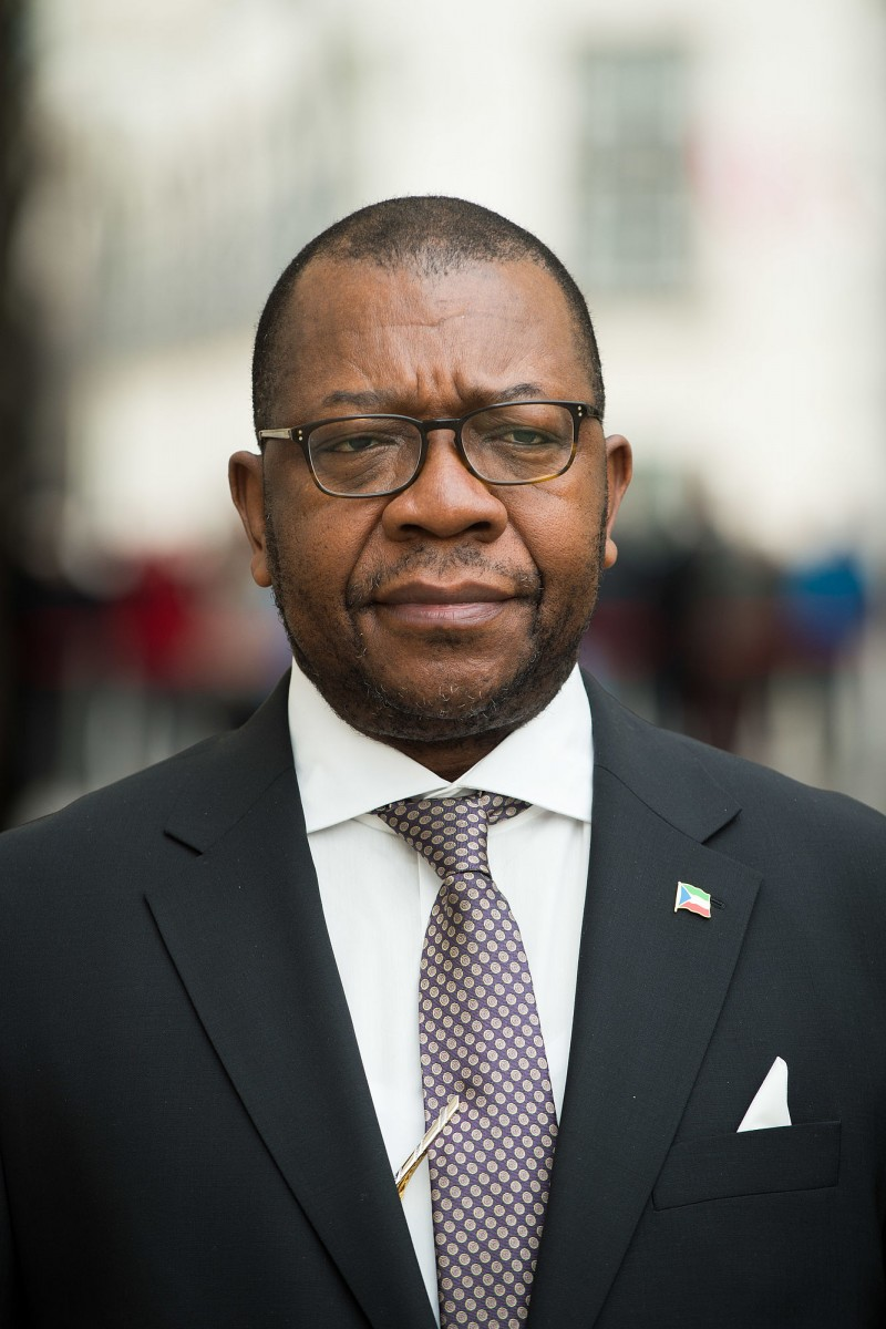 Ambassador of the Republic of Equatorial Guinea to Austria, H.E. Mr. Pantaleón Mayiboro Miko Nchama<small>© www.bundespraesident.at / Peter Lechner and Clemens Schwarz / HBF</small>