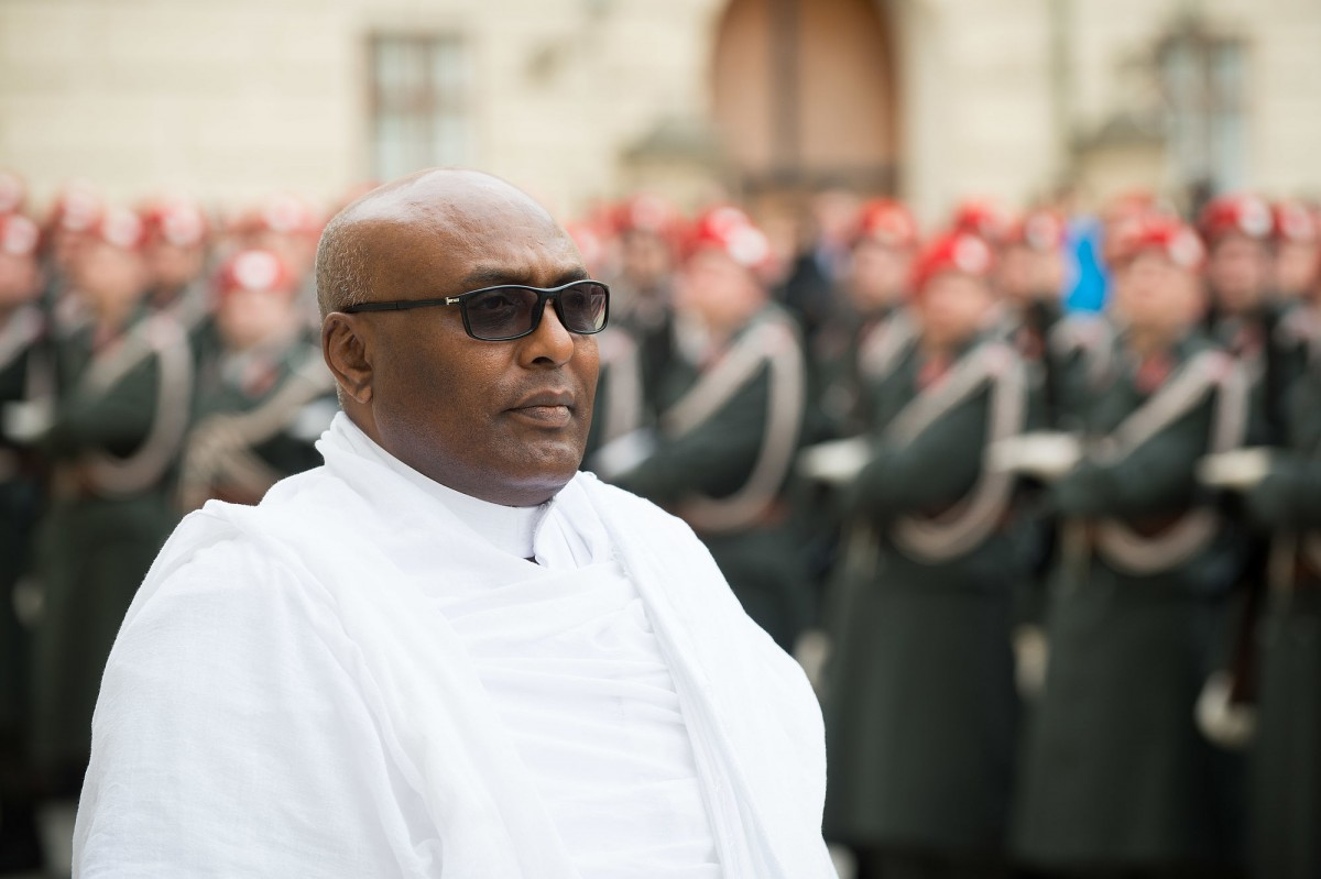 Ambassador of the Federal Democratic Republic of Ethiopia to Austria, H.E. Mr. Zenebe Kebede Korcho<small>© www.bundespraesident.at / Peter Lechner and Clemens Schwarz / HBF</small>