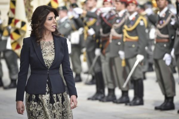 Ambassador of Jordan to Austria - H.E. Mrs. Leena Al-Hadid<small>© www.bundespraesident.at / Harald Minich / HBF</small>