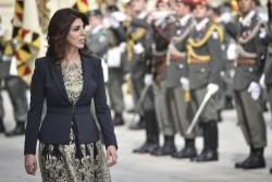 Ambassador of Jordan to Austria - H.E. Mrs. Leena Al-Hadid<small>&copy www.bundespraesident.at / Harald Minich / HBF</small>