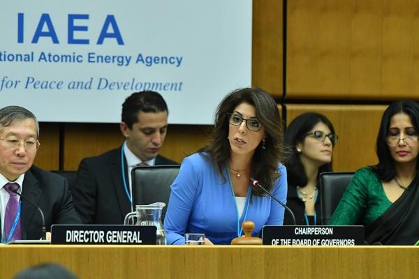 Ambassador Leela Al-Hadid of Jordan takes over as new Chairperson of the IAEA Board of Governors<small>© IAEA / D.Calma</small>