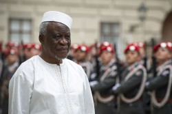 New Ambassador of the Republic of Sierra Leone to Austria: H.E. Mr. M´Baimba Lamin Baryoh<small>© www.bundespraesident.at / Lisa Kapici and Carina Karlovits / HBF</small>